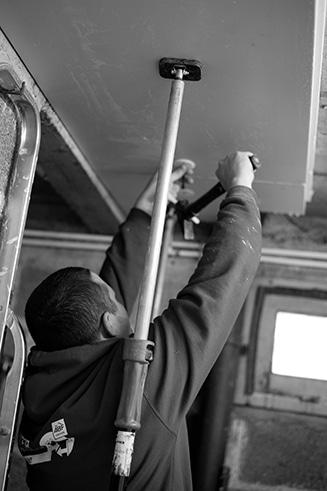 isolation panneaux isolants poylstyrène extrudé plafond maupin indre et loire vienne